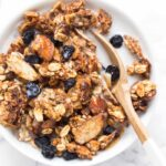 Honey Blueberry Quinoa Granola