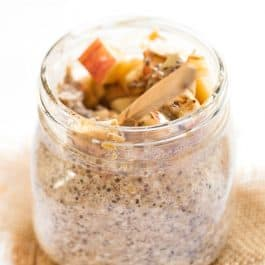 Apple Pie Overnight Quinoa