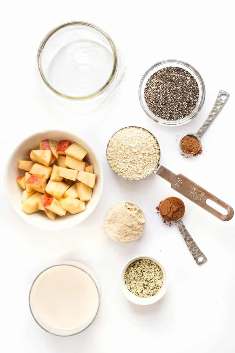 How to make the PERFECT Apple Pie Overnight Quinoa with just a few simple ingredients!