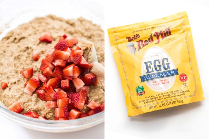 Easy VEGAN Egg Replacements - with recipe ideas, tips, tricks and more!
