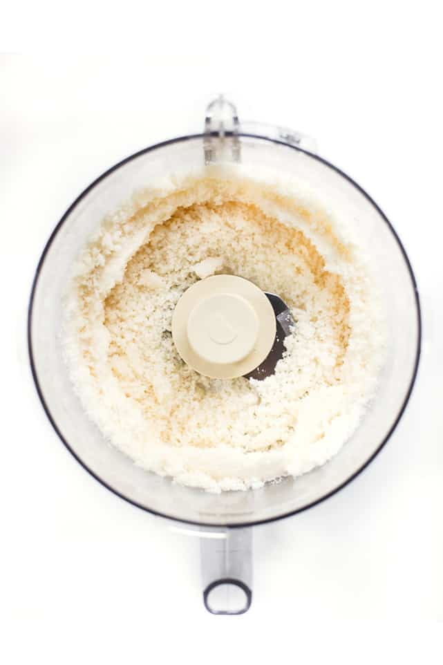 How to make COCONUT BUTTER at home -- with step-by-step photos!