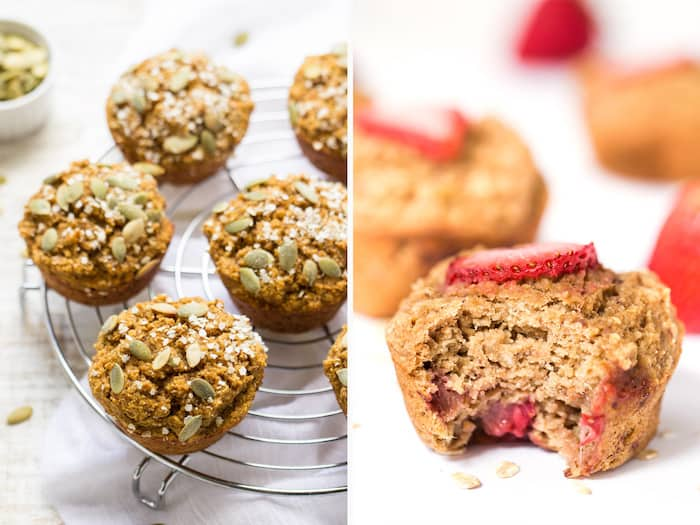 How to make VEGAN muffins using easy vegan egg substitutes!
