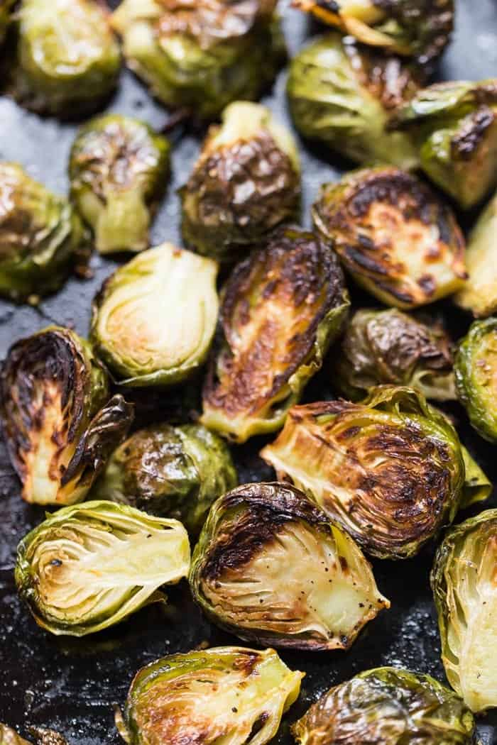 Roasted Brussels Sprouts for Meal Prep