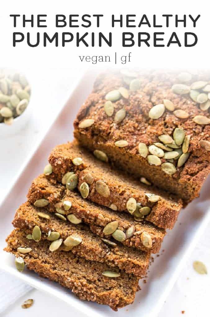 gluten-free and vegan pumpkin bread