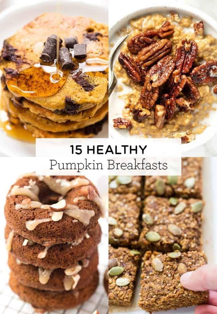 healthy pumpkin breakfast recipes