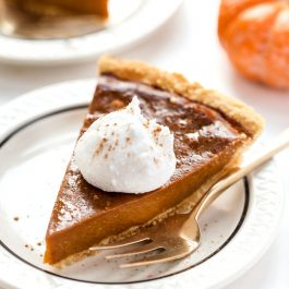 Vegan Pumpkin Pie with Almond Flour Pie Crust
