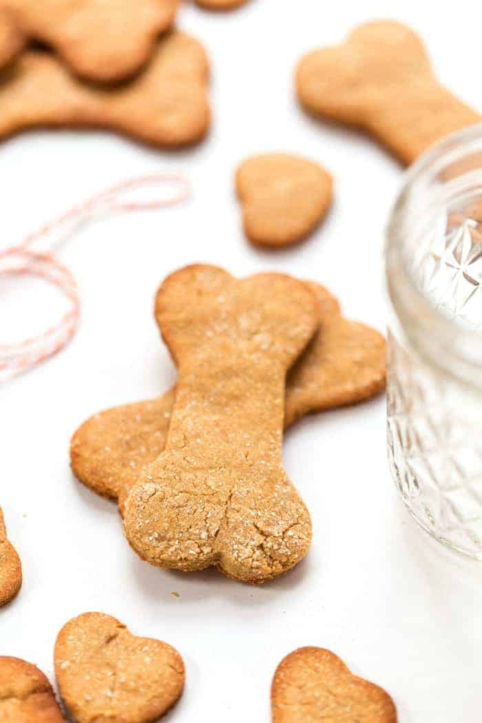 Grain Free Peanut Butter Dog Treats Simply Quinoa