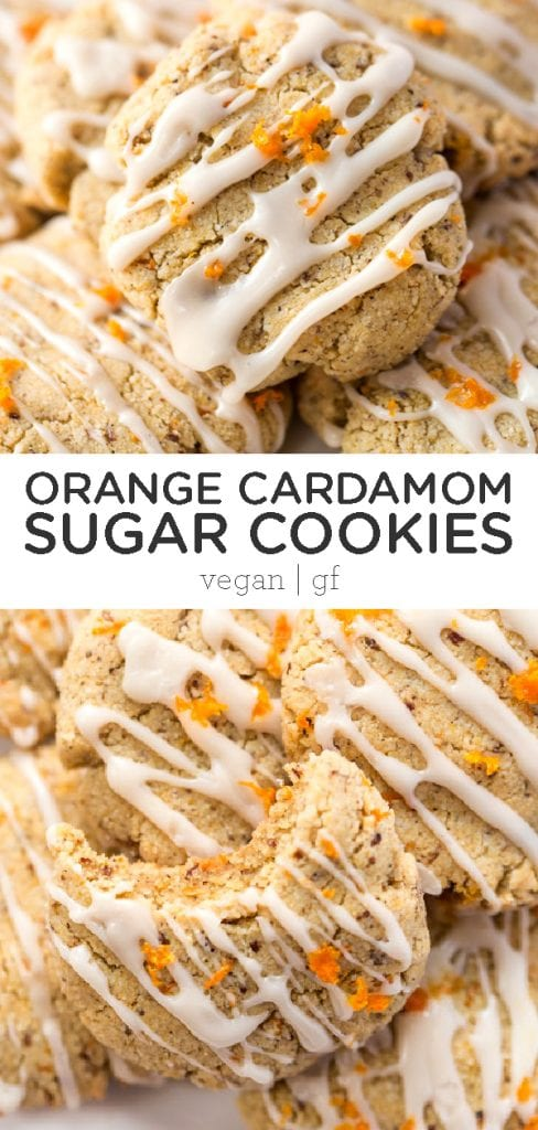 Orange Cardamom Sugar Cookies