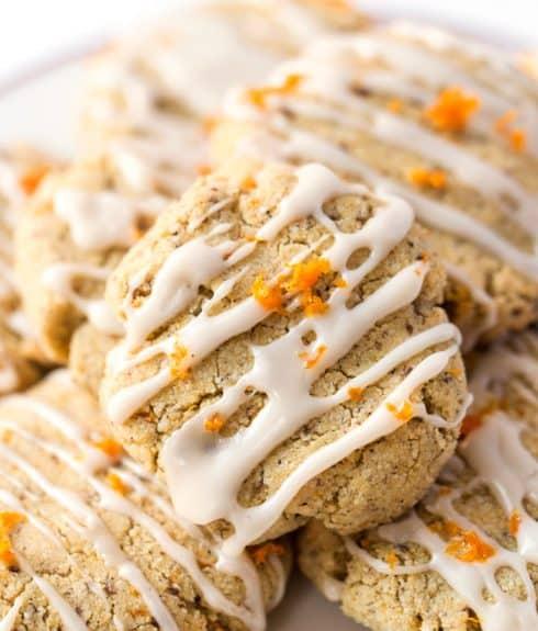 Orange Cardamom Sugar Cookies