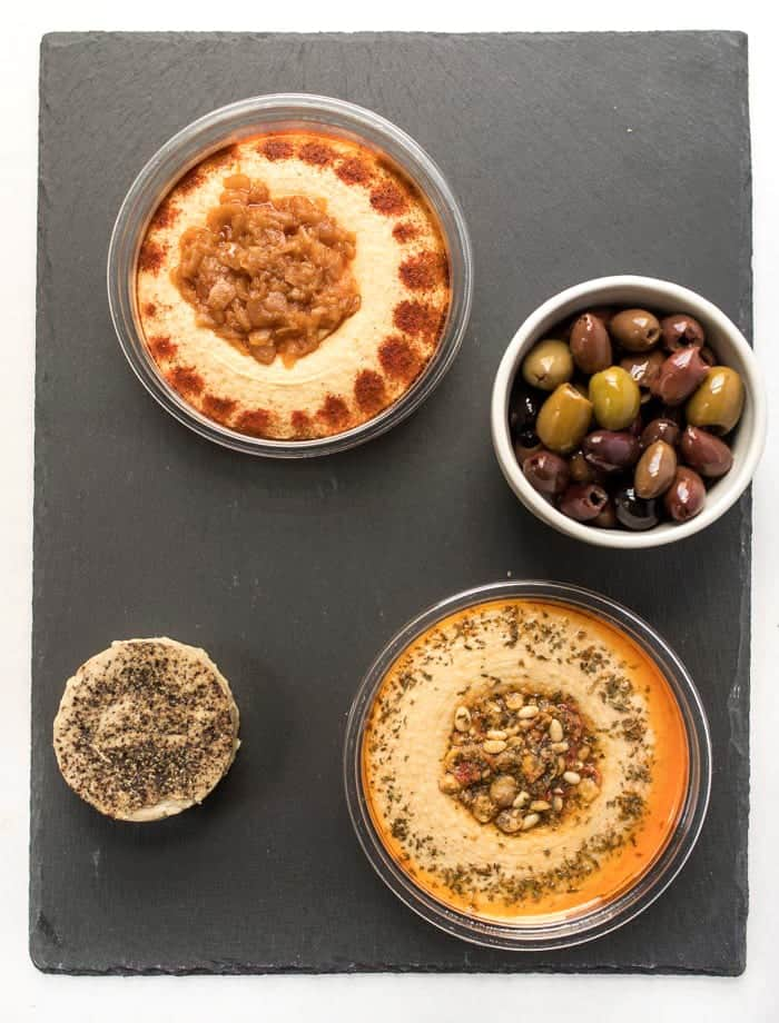 how to make a vegan snack board in 4 steps