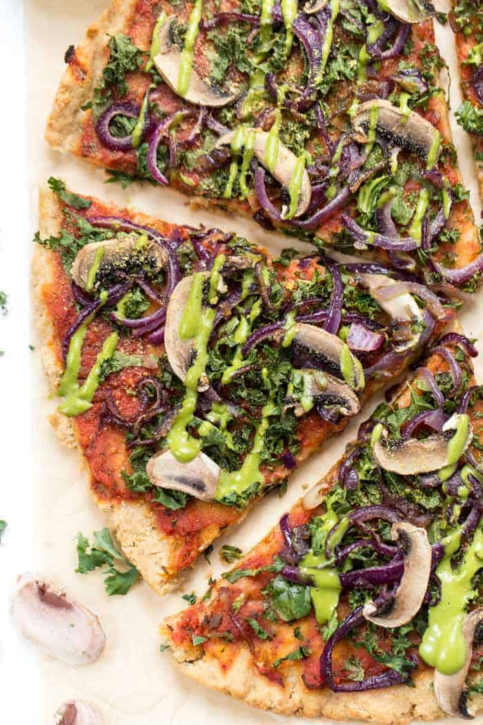 grain-free vegan pizza crust recipe
