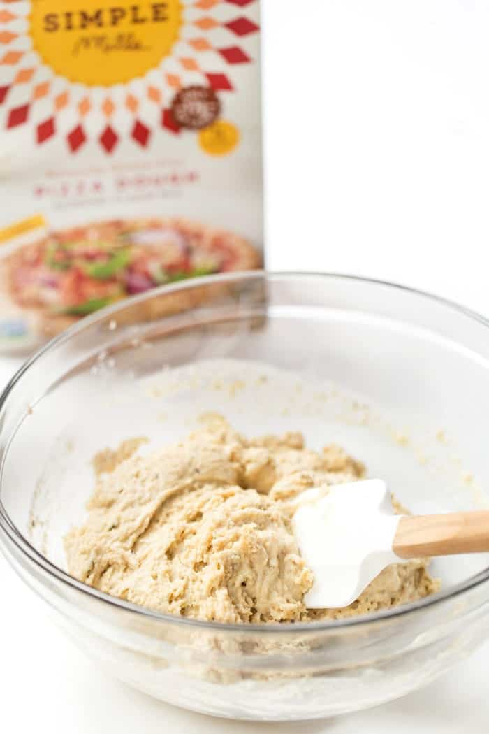 grain-free pizza dough mix from Simple Mills