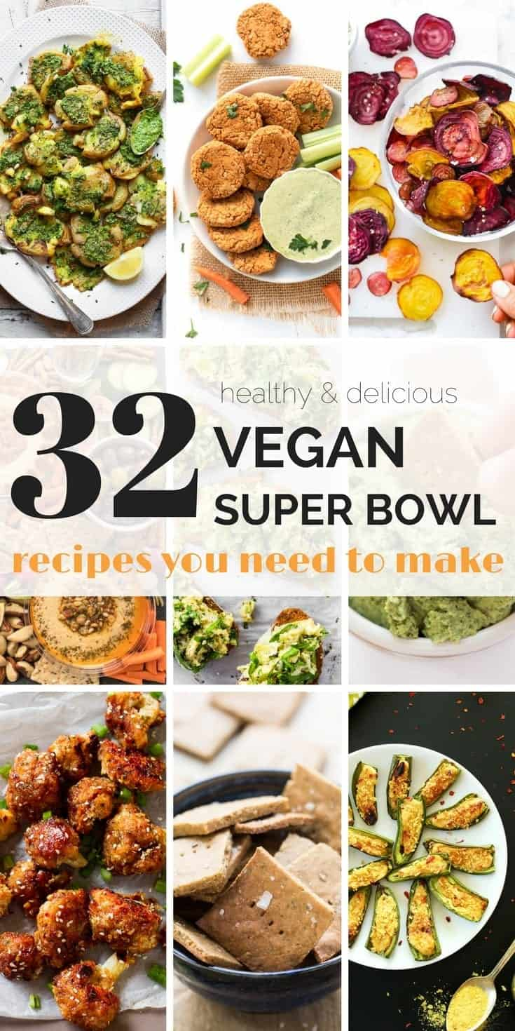 32 amazing (and delicious) vegan super bowl recipes