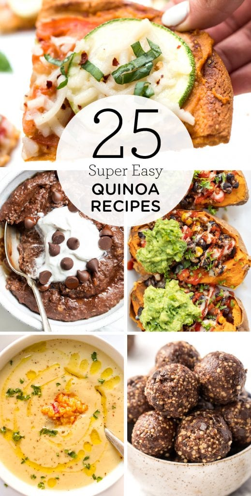 25 of the BEST easy Quinoa Recipes