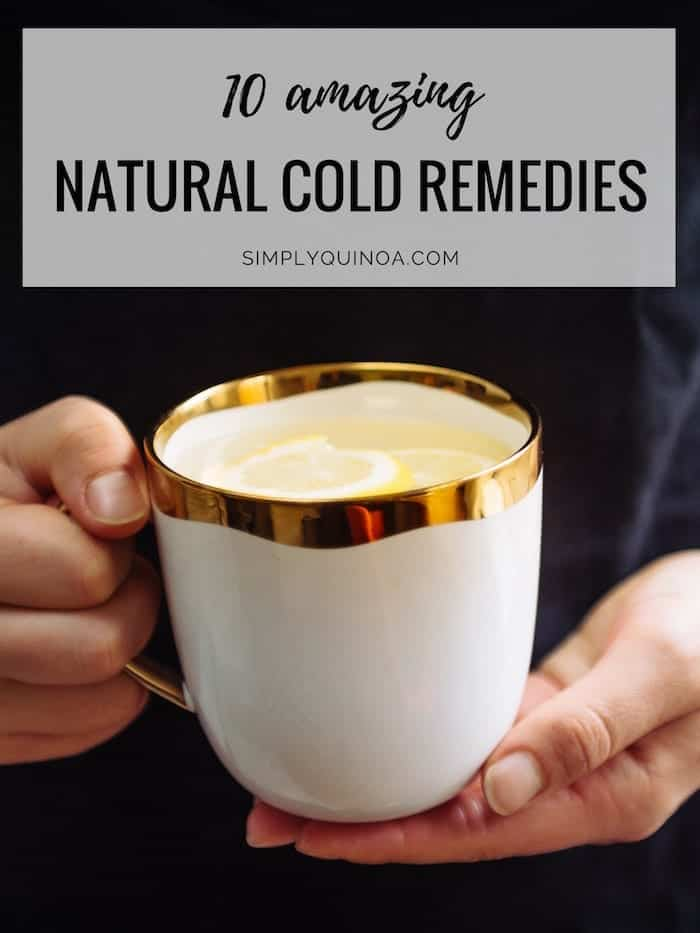 how to cure the common cold with natural remedies