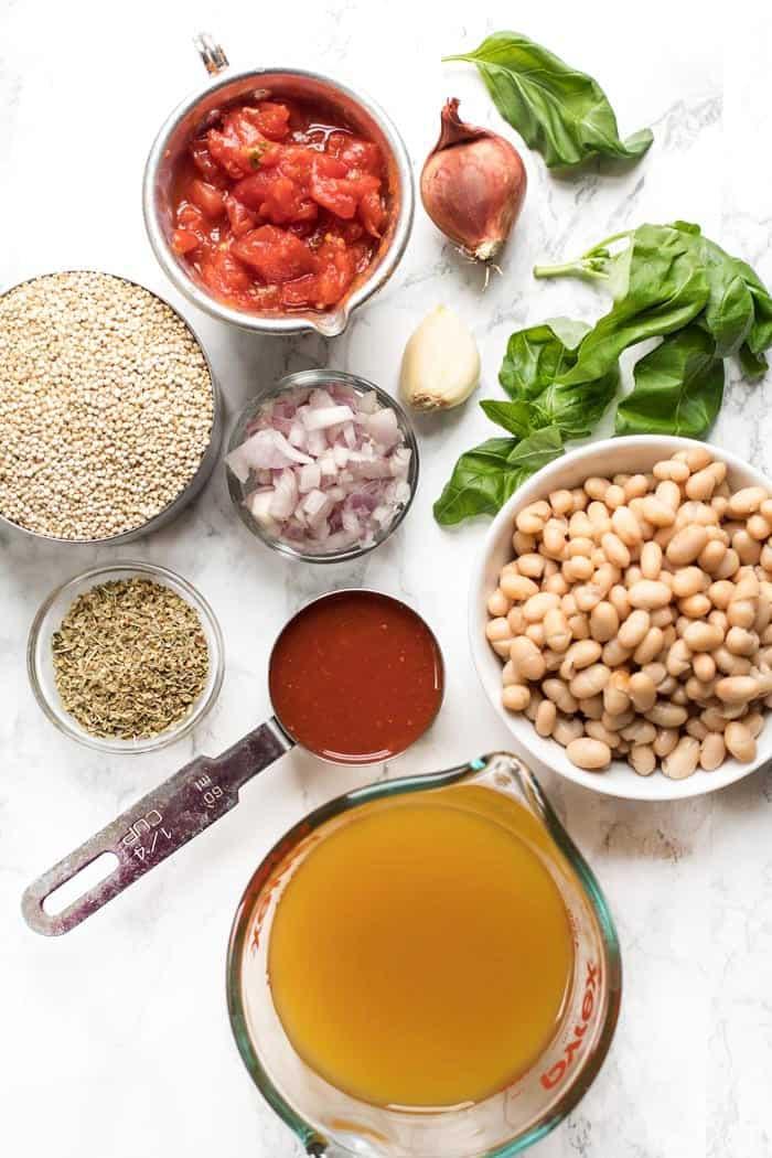 how to make Italian quinoa in one pot