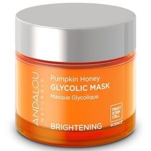 andalou naturals pumpkin glycolic mask