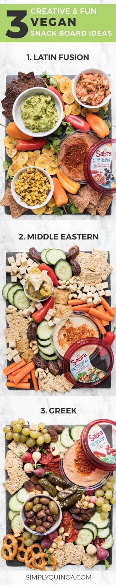 how to make a vegan snack board 3 different ways