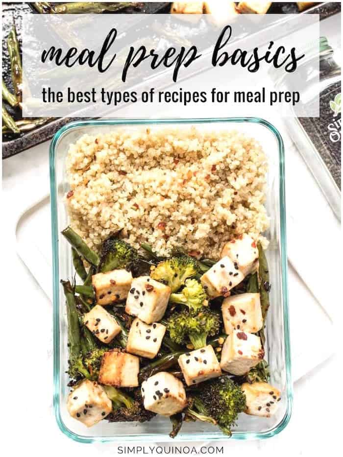 vegan meal prep basics plus the best recipes for meal prep