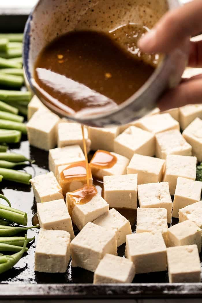 easy sesame marinade for tofu