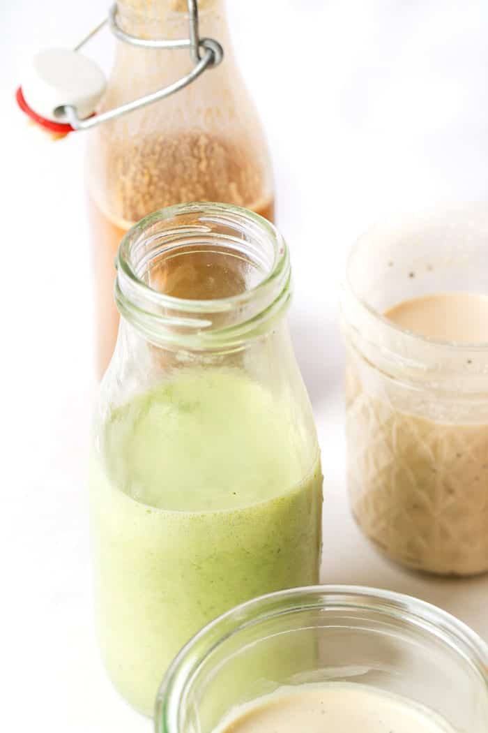 how to make healthy vegan salad dressings 6 different ways