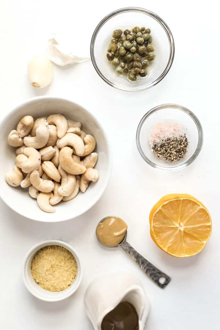 how to make vegan ranch dressing with cashews