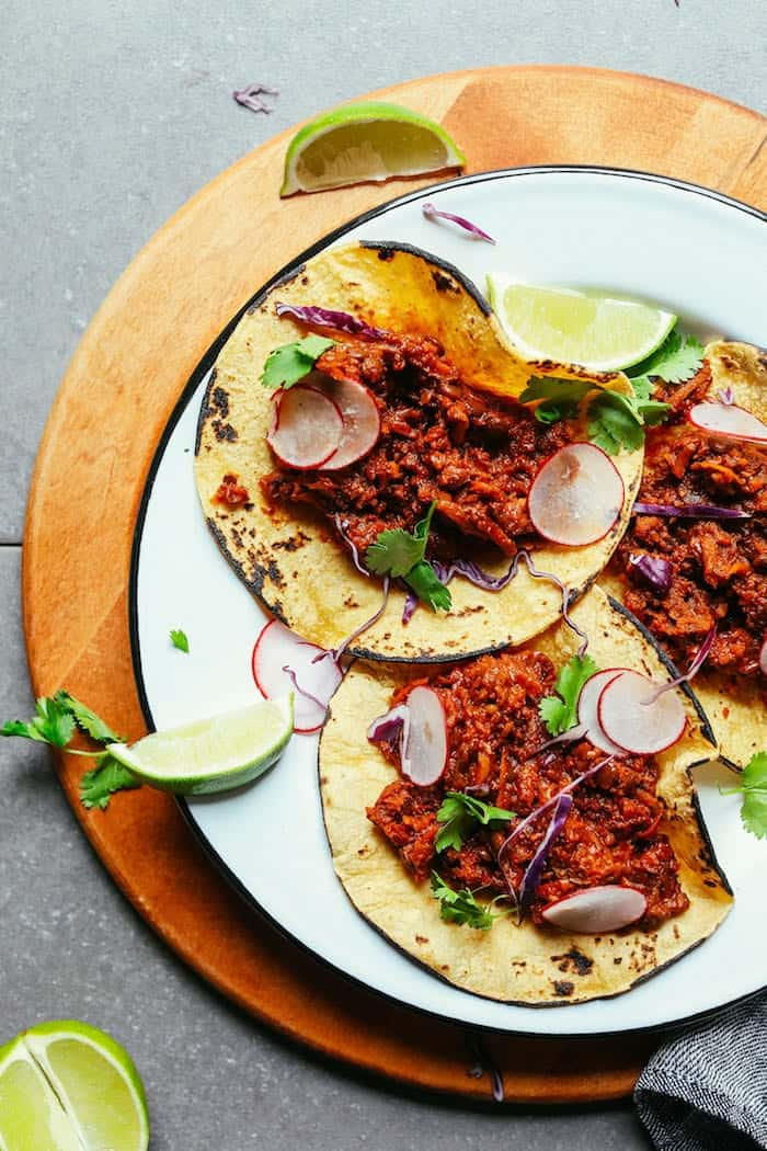 vegan barbacoa made in one pot