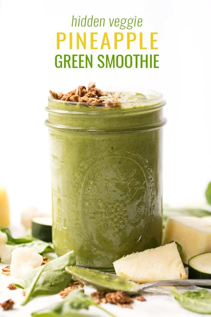 best pineapple green smoothie recipe for picky eaters