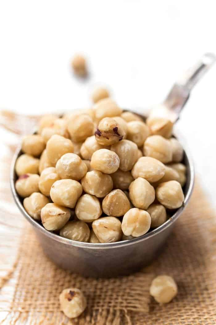 blanched hazelnuts for vegan nutella recipe