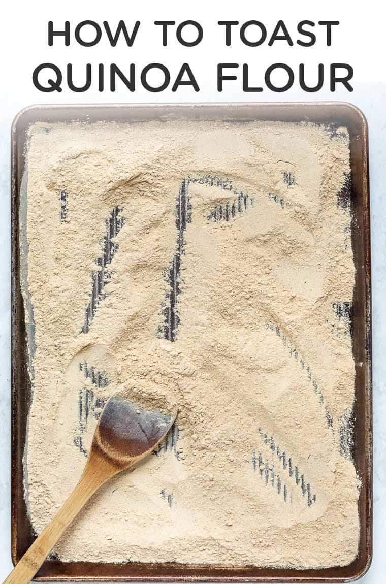 How to Toast Quinoa Flour