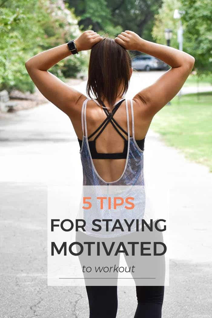 5 workout motivation tips to keep you excited and making process