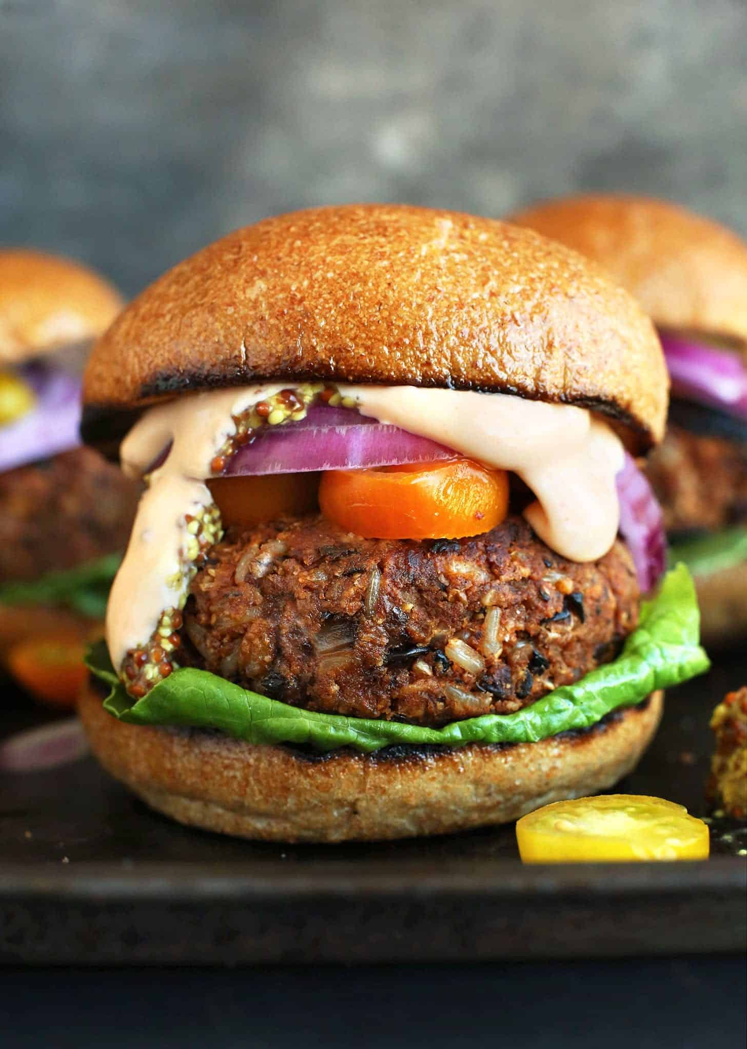 gillable veggie burgers for summer