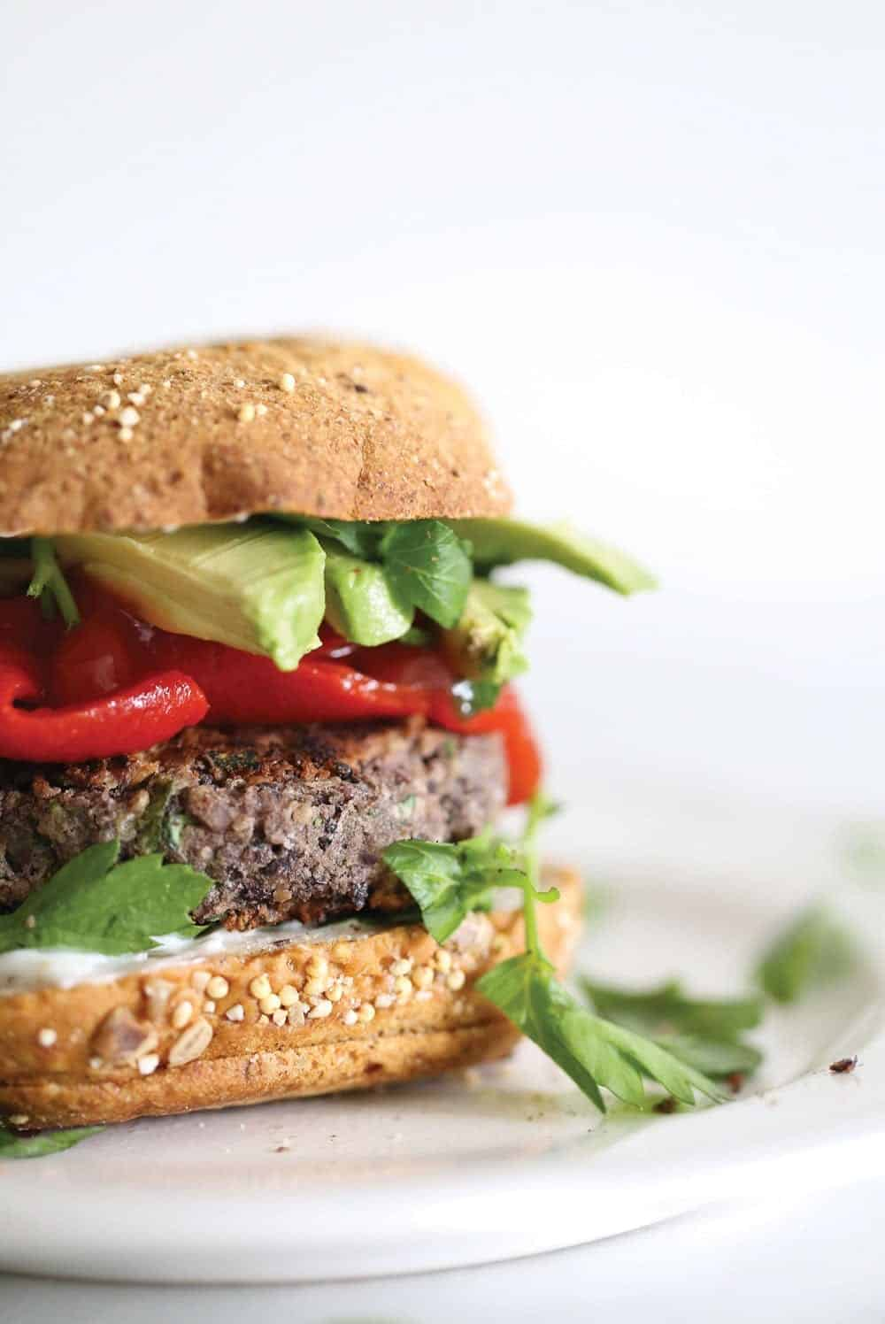 easy black bean burgers that are vegan and gluten-free