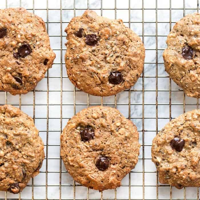 healthy protein cookies as a quick on the go snack idea