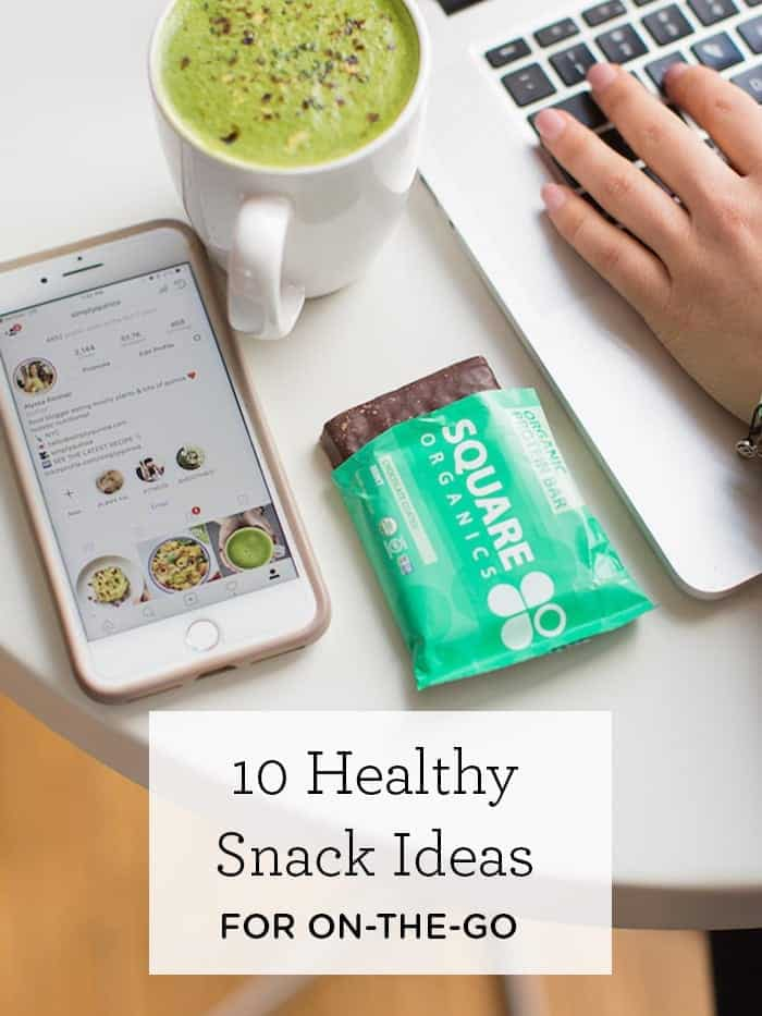 10 healthy snack ideas that are perfect for on-the-go