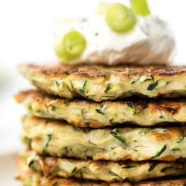 5-Ingredient Healthy Zucchini Fritters