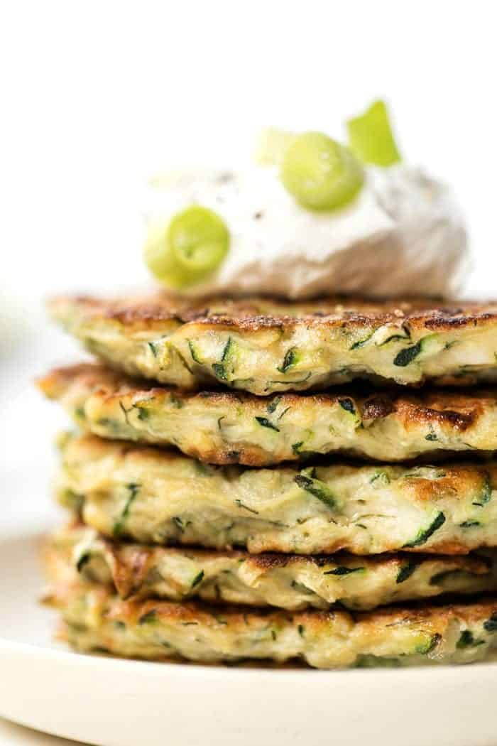 5 Ingredient Healthy Zucchini Fritters Simply Quinoa