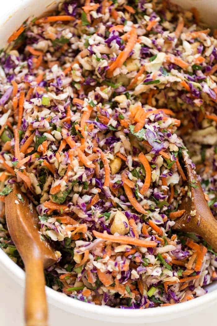 how to make vegan coleslaw without mayo