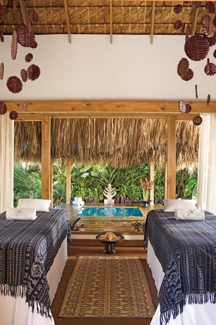 the spa at Zoetry Agua Punta Cana Dominican Republic