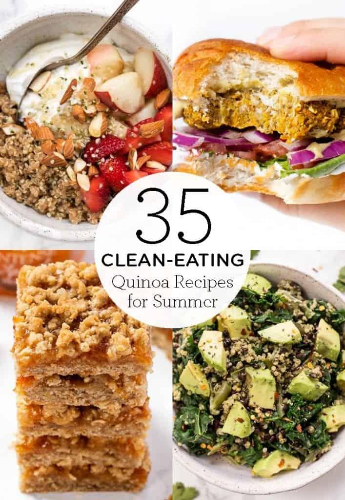 35 clean eating quinoa recipes