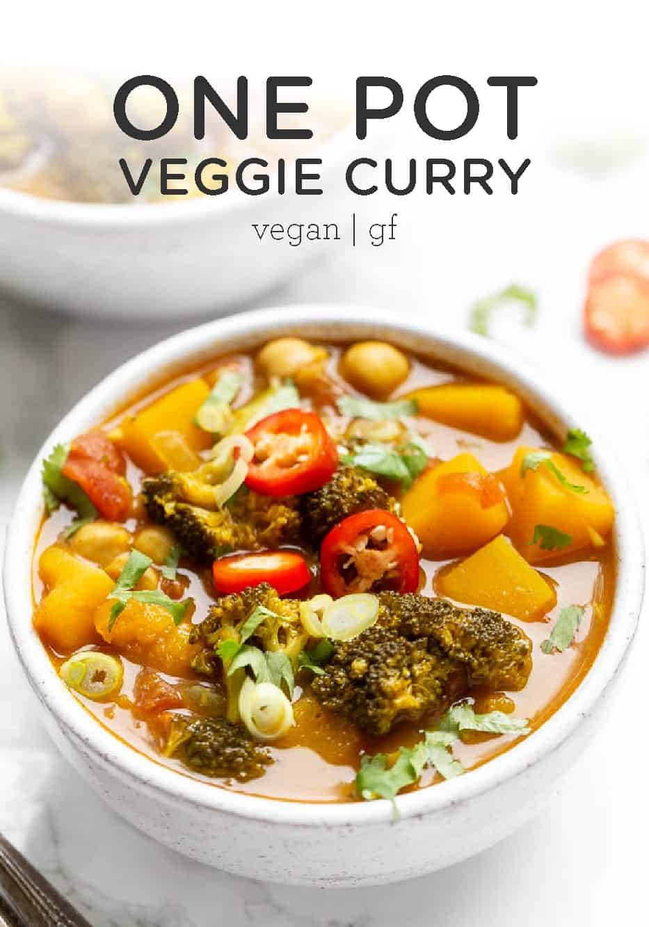 One Pot Vegetable Chickpea Curry