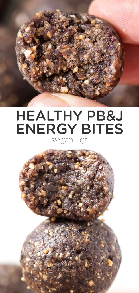 PB&J Energy Bites