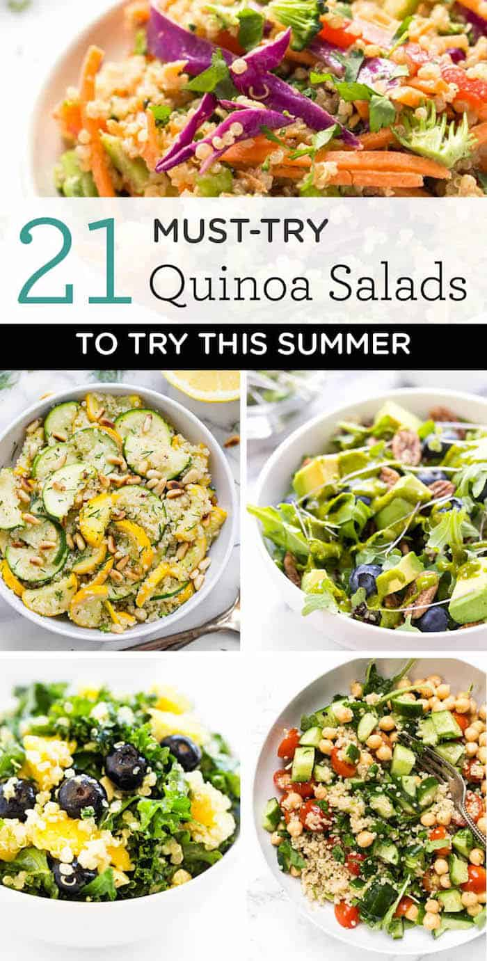 healthy quinoa salad recipes to try this summer