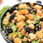 Blackberry & Apricot Salad with Quinoa and Mint