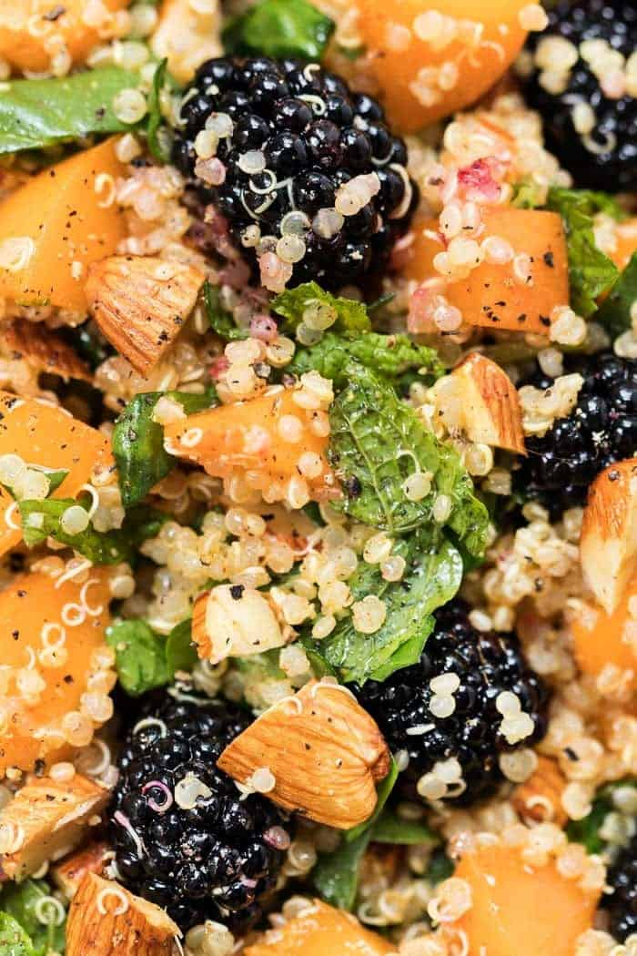 Summer Quinoa Salad with Apricots