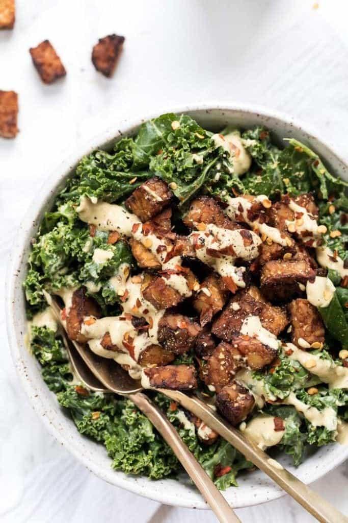 Gluten-Free & Vegan Kale Salad