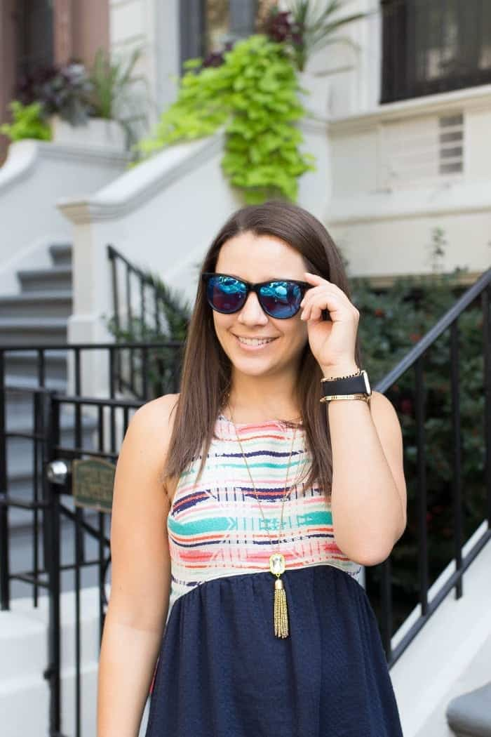 Alyssa Rimmer wearing Wildfox Sunglasses
