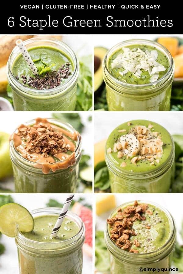 Staple Green Smoothie Recipes