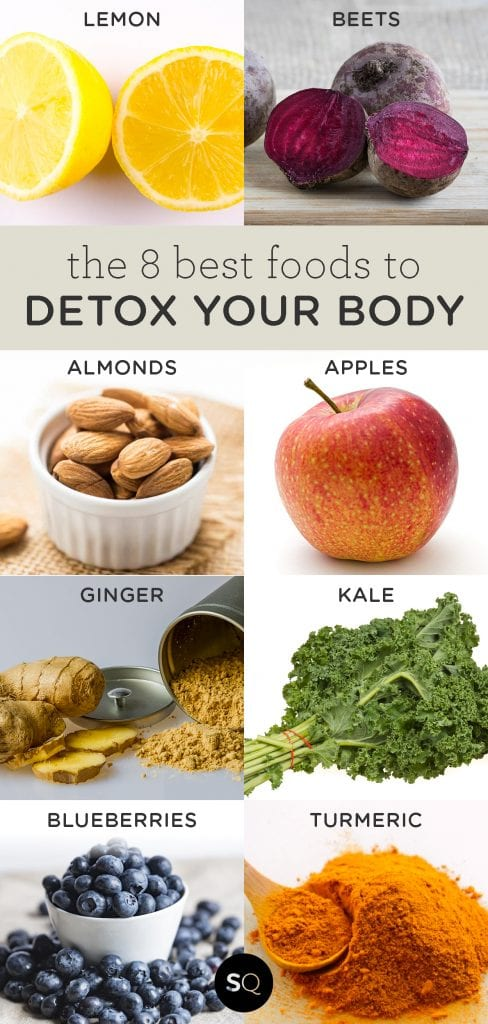 8 Best Foods to DETOX your body