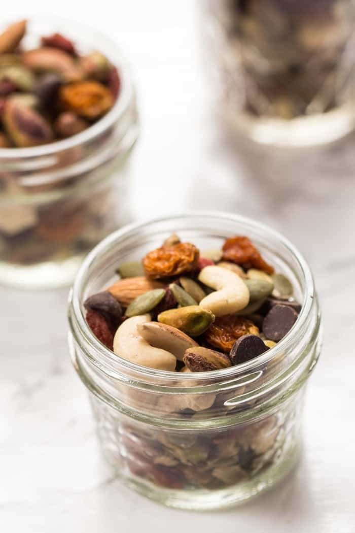 DIY Trail Mix with Chocolate Chips